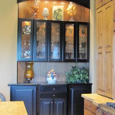 Traditional Kitchen by Monique Jacqueline Design