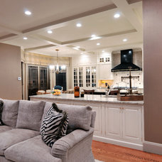 Traditional Living Room by Kitchen Designs by Ken Kelly, Inc. (CKD, CBD, CR)
