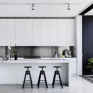 Contemporary kitchen in Sydney.