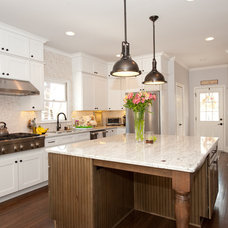Traditional Kitchen by Heirloom Design Build