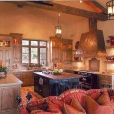 Traditional Kitchen by Jill Jordan