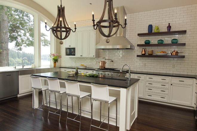 Contemporary Kitchen by Whitney Lyons