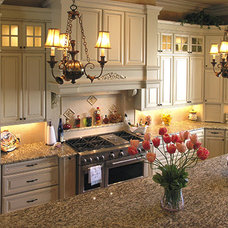 Traditional Kitchen by Natural Stone Gallery