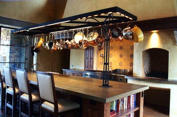 Mediterranean Kitchen by JMA (Jim Murphy and Associates)