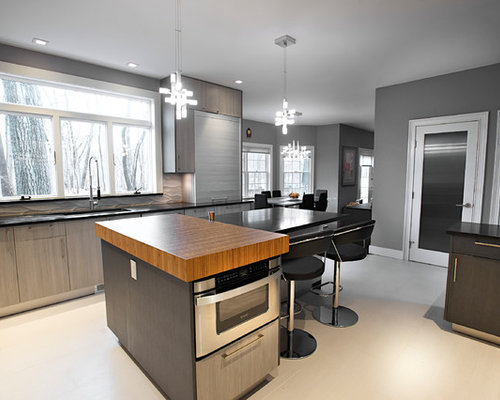Green Kitchen with Onyx Countertops Design Ideas & Remodel Pictures ...