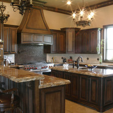 Traditional Kitchen by C&S Cabinets, Inc