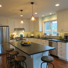 Traditional Kitchen by Philadelphia Soapstone Company