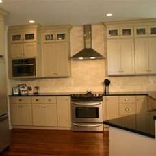 Contemporary Kitchen by Brewer Cabinets