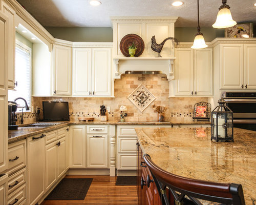 Natural Stone Backsplash Home Design Ideas Pictures