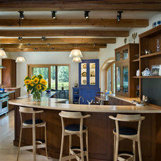 Rustic Kitchen by Carney Logan Burke Architects