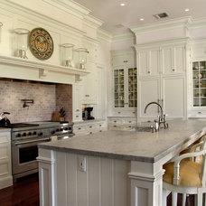 Traditional Kitchen by John McDonald Company