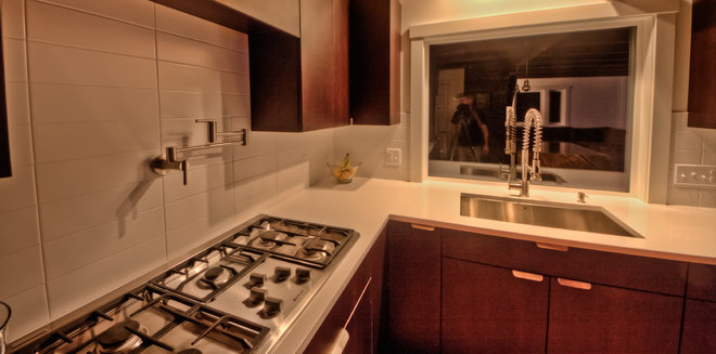 Contemporary Kitchen by Alliance Stone & Cabinetry