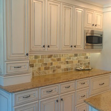 Traditional Kitchen by Melcer Tile