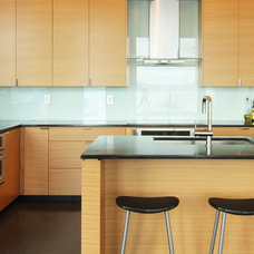 Contemporary Kitchen Cabinets by Beech Tree Woodworks