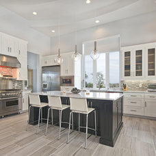 Transitional Kitchen by Robare Custom Homes