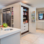Wine Storage Traditional Kitchen Dublin By Woodale