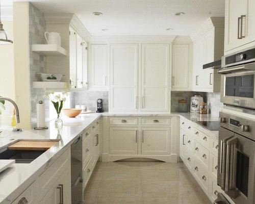 rustikale k chen mit marmorboden ideen bilder. Black Bedroom Furniture Sets. Home Design Ideas