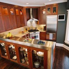 Eclectic Kitchen by Jones Design Build