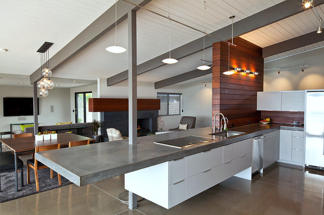 Modern Kitchen by Silva Studios Architecture