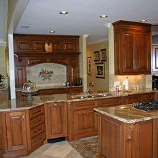 Traditional Kitchen by Carson's Cabinetry & Design