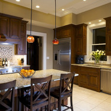 Contemporary Kitchen by Joni Spear Interior Design