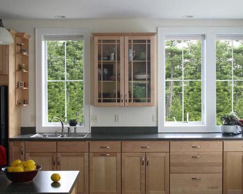 Unfinished birch kitchen cabinets home design ideas for Birch kitchen cabinets
