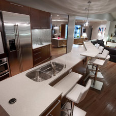 Contemporary Kitchen by Mesh Architecture and Fabrication