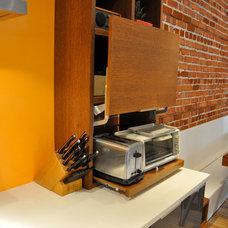 Modern Kitchen by Bipède