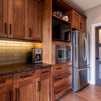 Juglans contemporary kitchen calgary by superior for Ak kitchen cabinets calgary