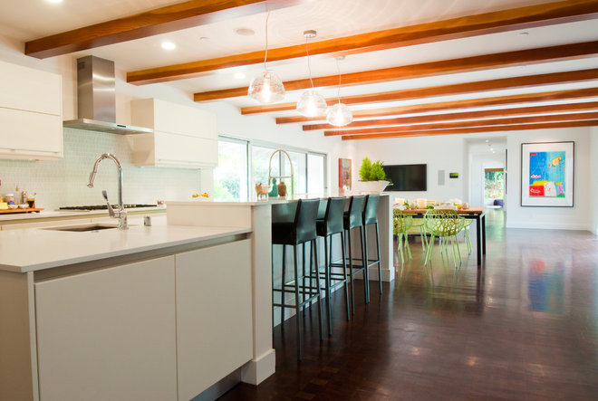 Contemporary Kitchen by Janet Paik