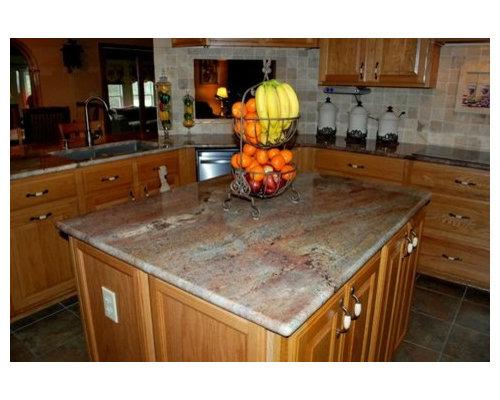 Juparana Bordeaux Granite | Houzz