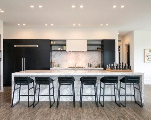 cuisine marbre blanc carrera photos et id es d co de. Black Bedroom Furniture Sets. Home Design Ideas