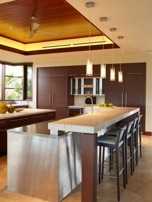 3 297 tropical kitchen design ideas remodels photos for Tropical kitchen decor