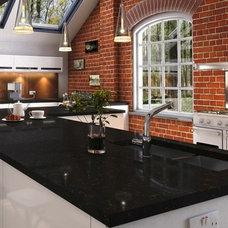 Modern Kitchen Countertops by Kabinet King