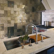 Contemporary Kitchen by Kallista Plumbing