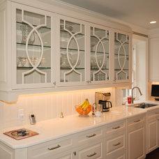 Transitional Kitchen by J Allen Smith Design/Build