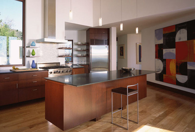 Modern Kitchen by Kanner Architects - CLOSED