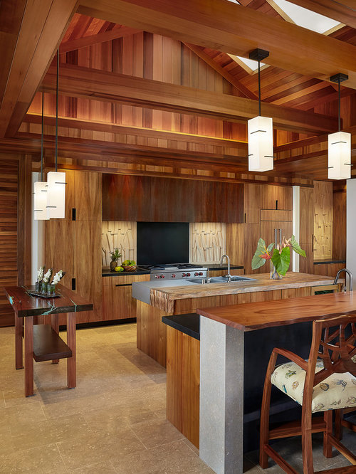 World Inspired Kitchen Design Ideas Renovations Photos With Multiple Islands