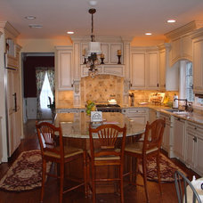 Traditional Kitchen by S.A.N Design Group, Inc.