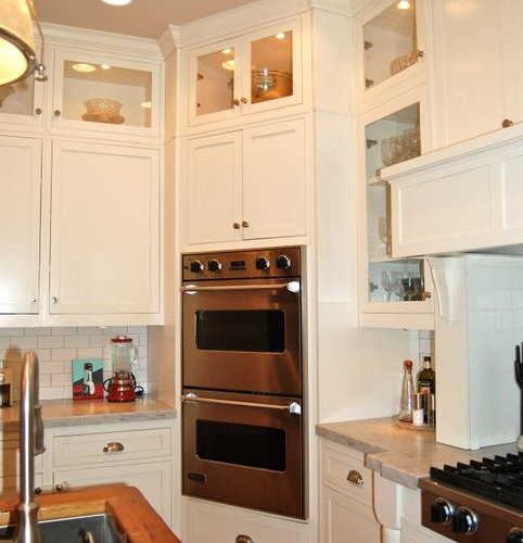 Wall Oven Cabinets: Double Wall Oven