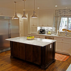Transitional Kitchen by Kara Weik