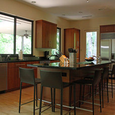 Contemporary Kitchen by Kara Weik
