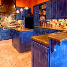 Mediterranean Kitchen by Alex Guthrie Construction