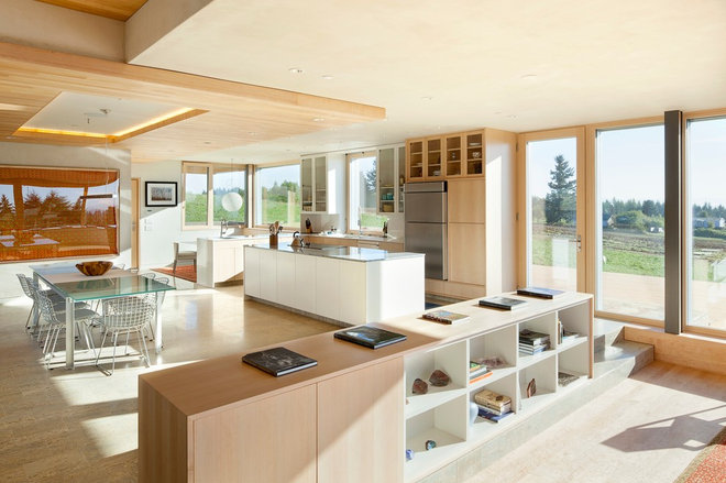 contemporary kitchen by Hammer & Hand