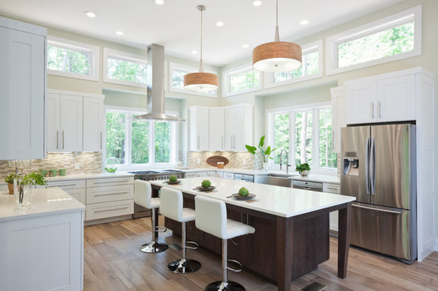 Transitional Kitchen by Turan Designs, Inc.
