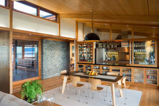 Houzz Tour: Japanese Aesthetic in a Kiwi Home by the Sea