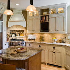 Traditional Kitchen by Kristy Egan Design