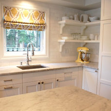 Contemporary Kitchen by Kate Davidson Design Inc