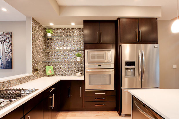 Contemporary Kitchen by Sunflower Creations