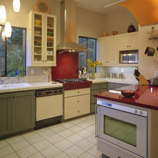 Contemporary Kitchen by Kathy Bate, ASID, CAPS